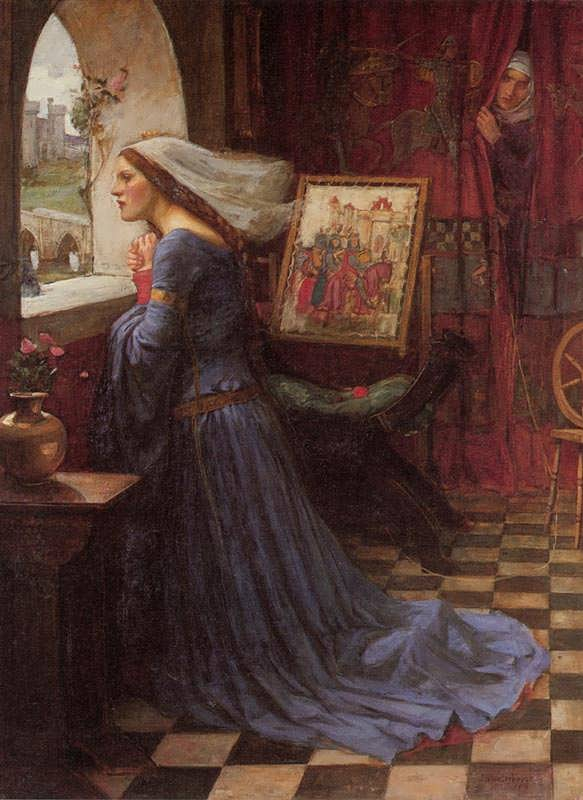 JohnWilliamWaterhouse-FairRosamund