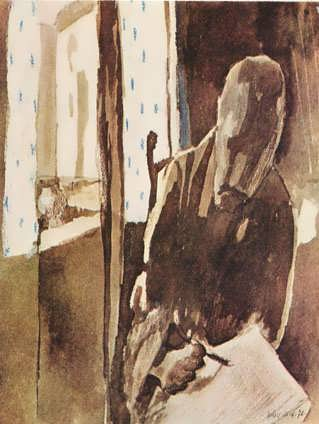 Klee-Theartistatthewindow