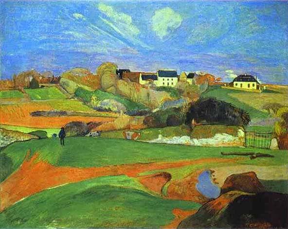 Landscape-gauguin