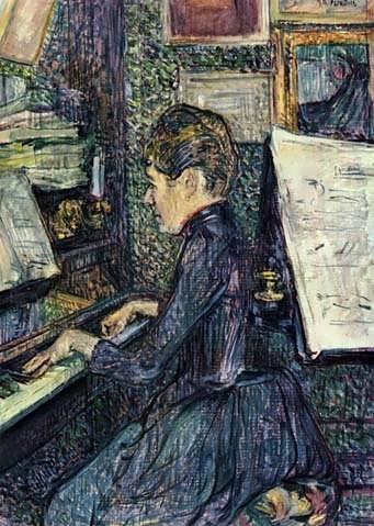 Lautrec-MilleDihauPlayingthePiano