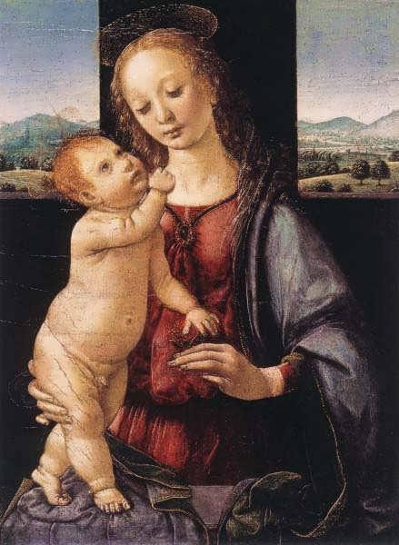 MadonnaandChildwithaPomegranate