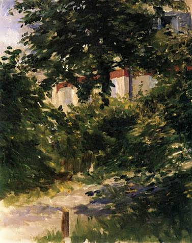 Manet-APathintheGardenatRueil