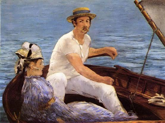 Manet-Boating