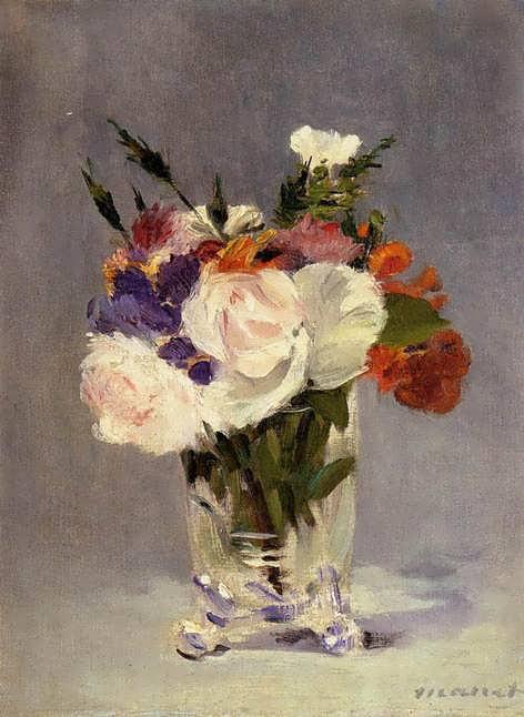 Manet-FlowersinaCrystalVast