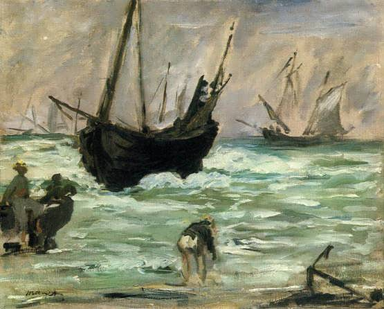 Manet-Seascape