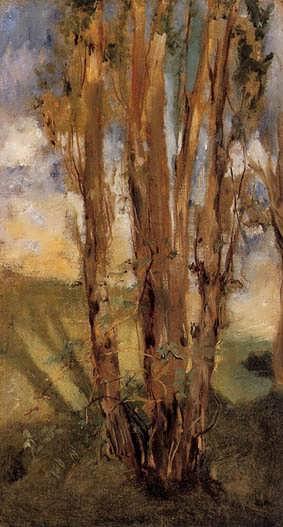 Manet-StudyofTrees
