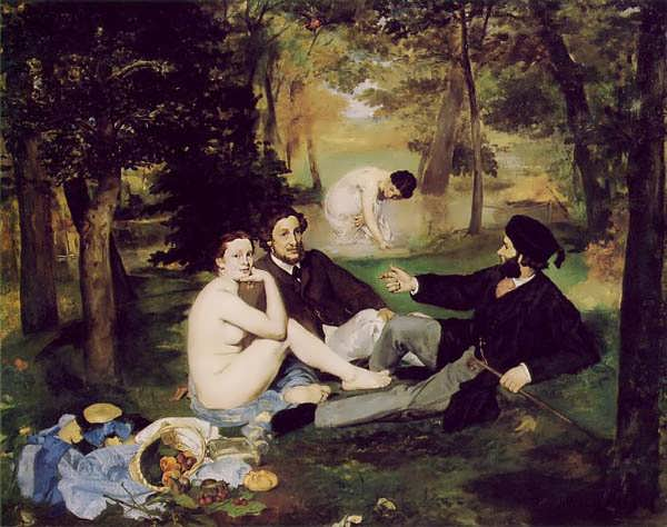 Manet-Thelucheononthegrass