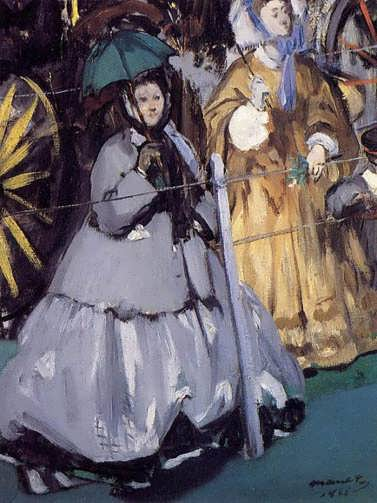 Manet-WomenattheRaces