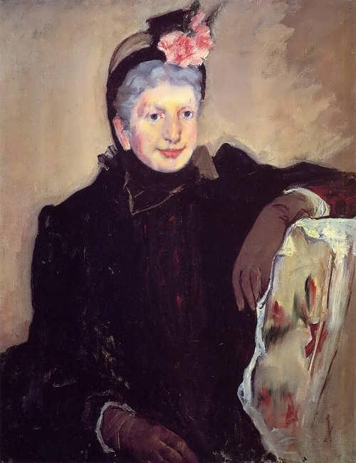 MaryCassatt-PortraitofanElderlyLady