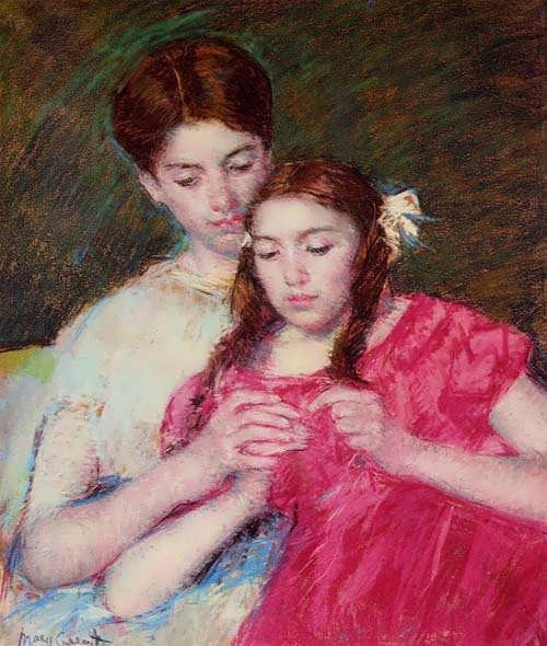 MaryCassatt-TheCrochetLesson