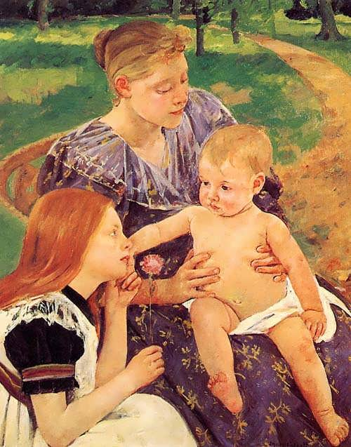 MaryCassatt-TheFamily