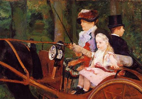 MaryCassatt-WomanandChildDriving