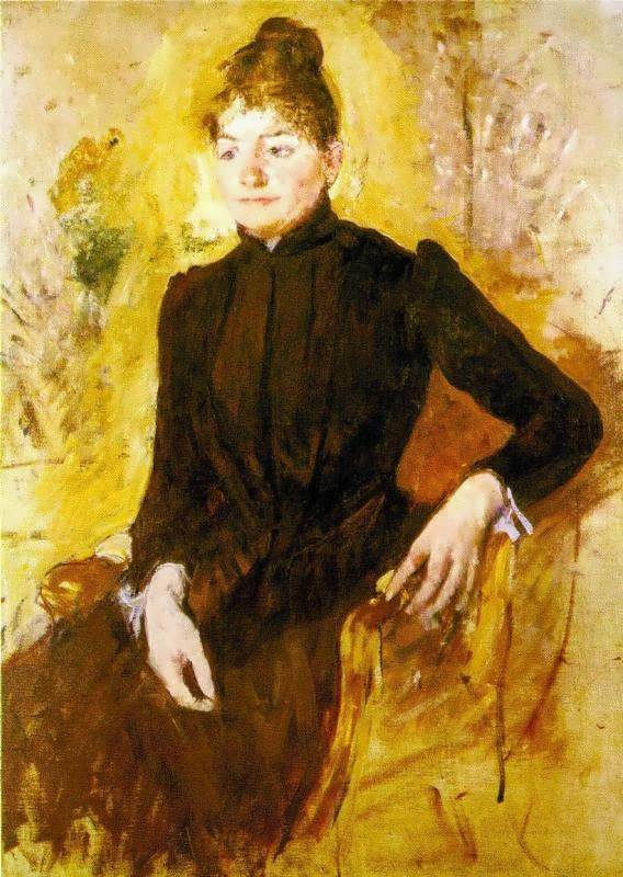 MaryCassatt-WomaninBlack