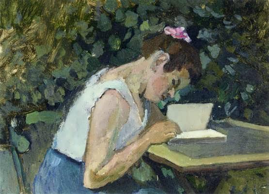 Matisse-WomanReadinginaGarden