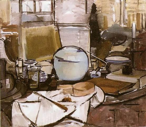 Mondrian-StillLifewithGingerJarI.