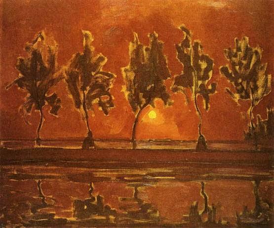 Mondrian-TreesbytheGeinatMoonrise