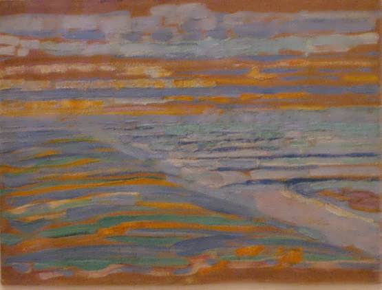 Mondrian-ViewfromtheDuneswithBeachandPiersDomburg