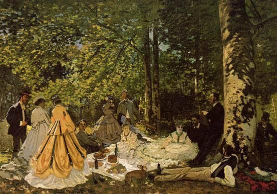 Monet-LuncheonontheGrass