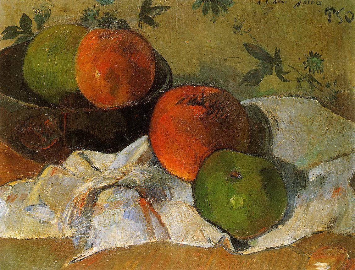 PaulGauguin-ApplesandBowl