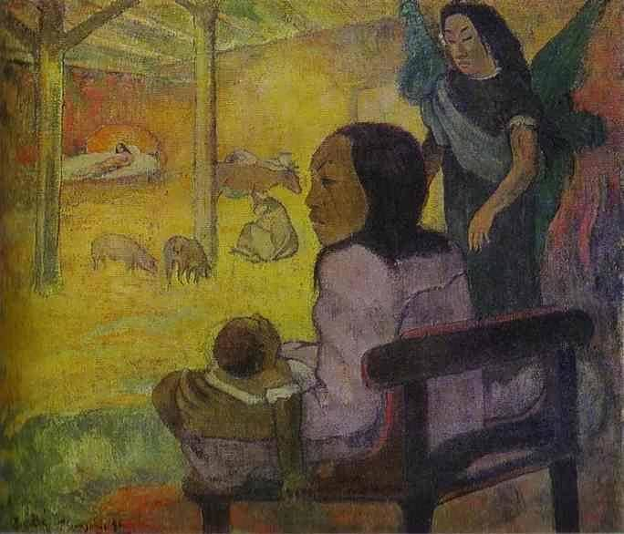 PaulGauguin-BabyakaTheNativity