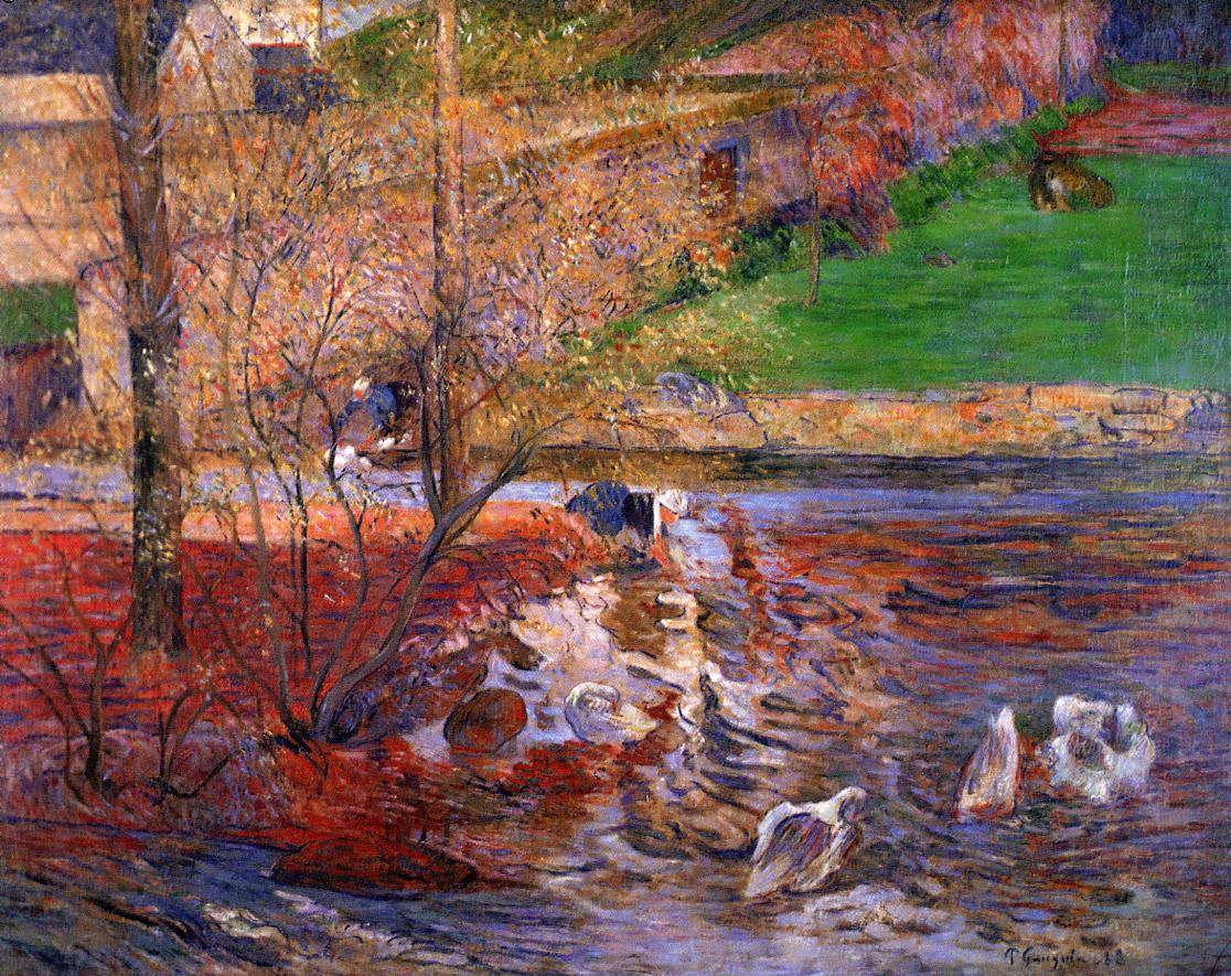PaulGauguin-LandscapewithGeese