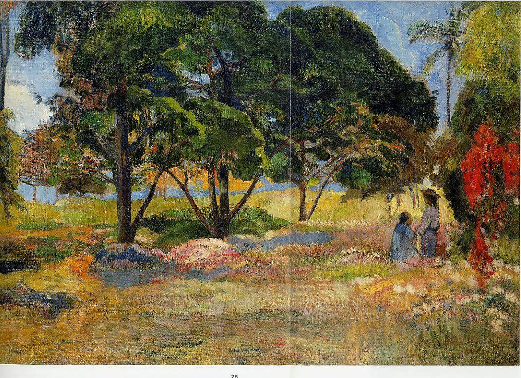 PaulGauguin-LandscapewithThreeTrees