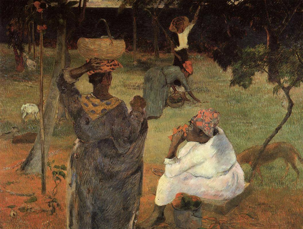 PaulGauguin-MangoPickersMartinique
