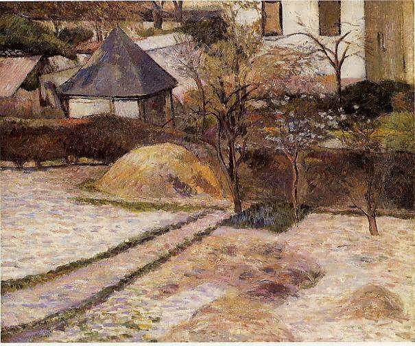 PaulGauguin-RouenLandscape