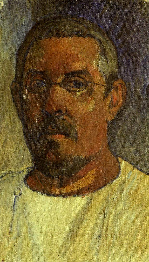PaulGauguin-SelfPortraitwithSpectacles