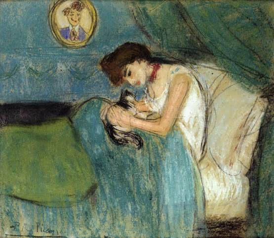 Picasso-WomanwithCat