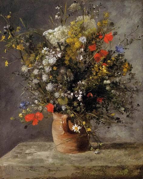 Renior-FlowersinaVase