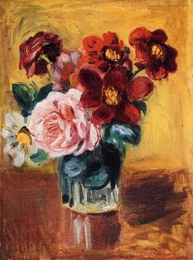Renior-FlowersinaVaseII
