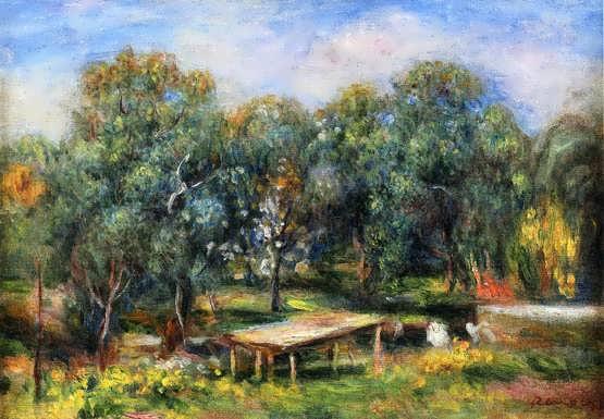 Renior-LandscapeatCollettes