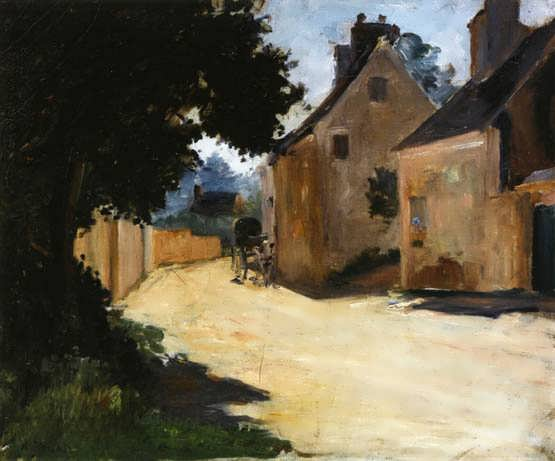 Renior-VillageStreetLouveciennes