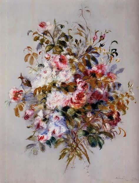 Renoir-ABouquetofRoses