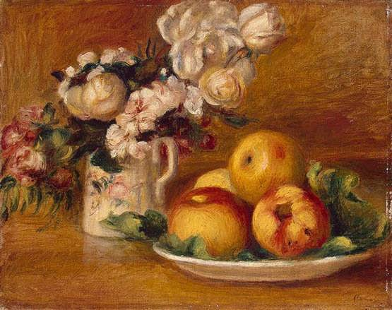 Renoir-ApplesandFlowers