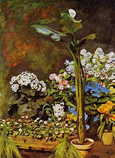 Renoir-ArumandConservatoryPlants
