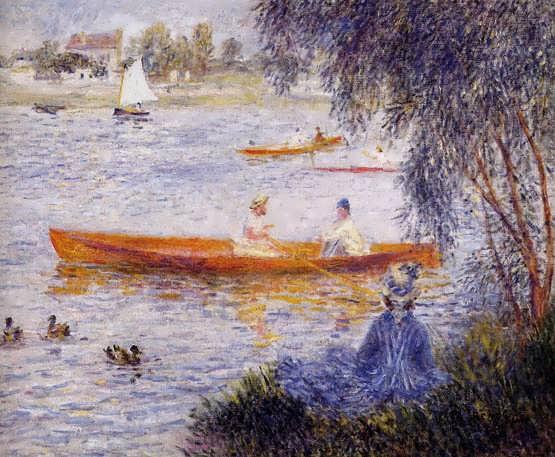 Renoir-BoatingatArgenteuil