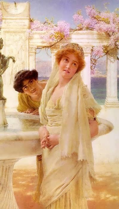 SirLawrenceAlma-Tadema-ADifferenceofOpinion