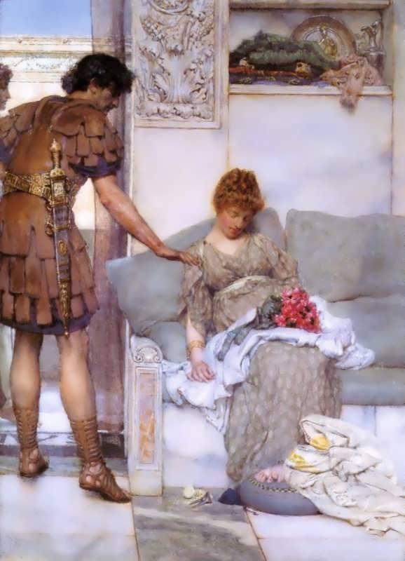 SirLawrenceAlma-Tadema-ASilentGreeting