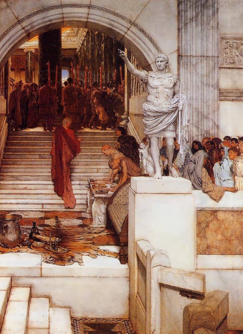 SirLawrenceAlma-Tadema-AftertheAudience