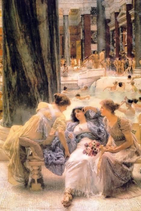 SirLawrenceAlma-Tadema-TheBathsofCaracalla