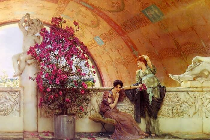 SirLawrenceAlma-Tadema-UnconsciousRivals