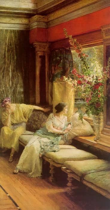 SirLawrenceAlma-Tadema-VainCourtship