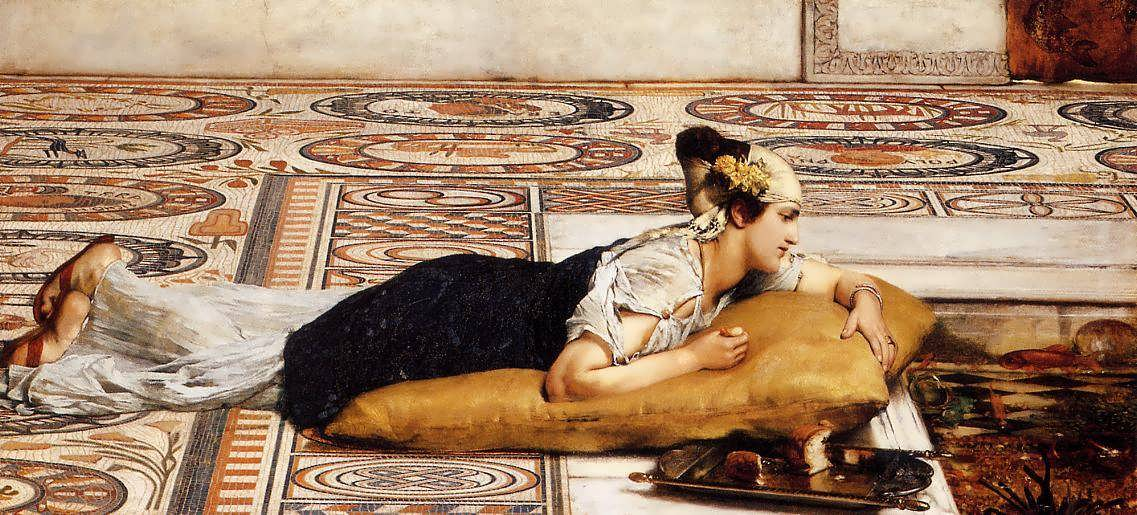 SirLawrenceAlma-Tadema-WelcomeFootsteps