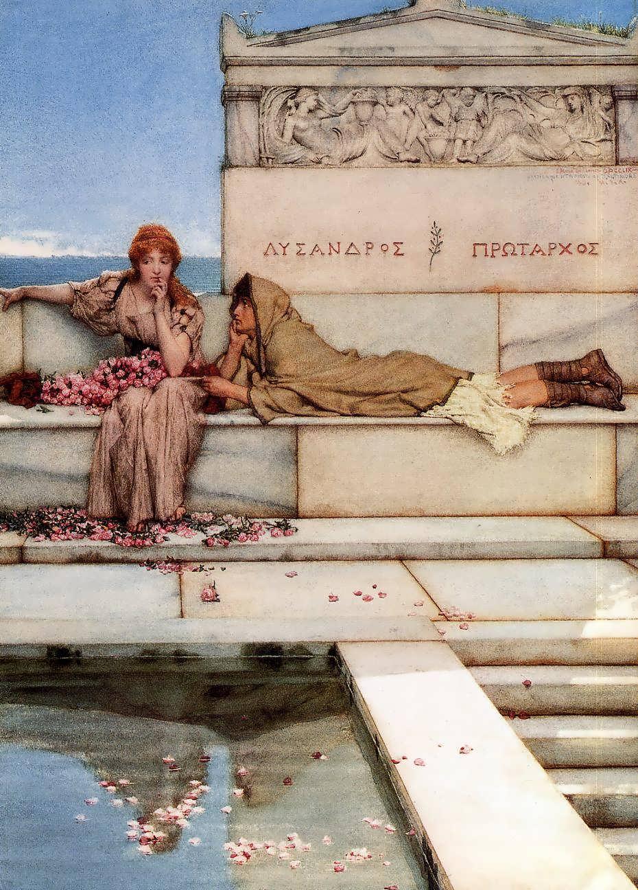 SirLawrenceAlma-Tadema-XantheandPhaon