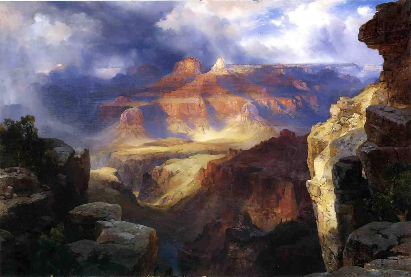 ThomasMoran-AMiracleofNature
