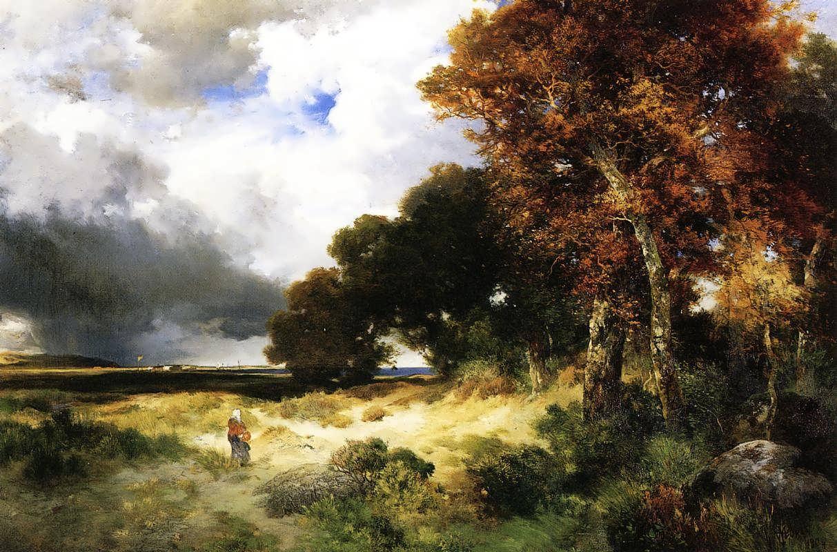 ThomasMoran-AutumnPeconicBayLongIsland