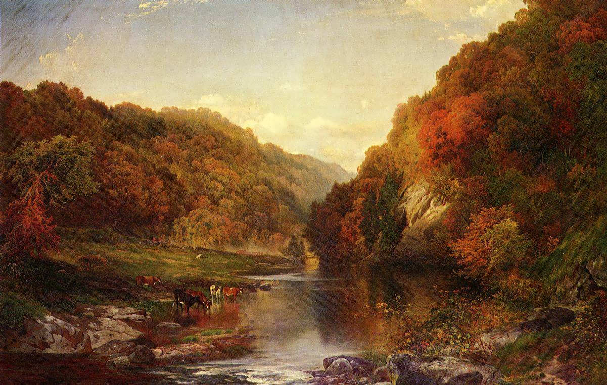 ThomasMoran-AutumnontheWissahickon