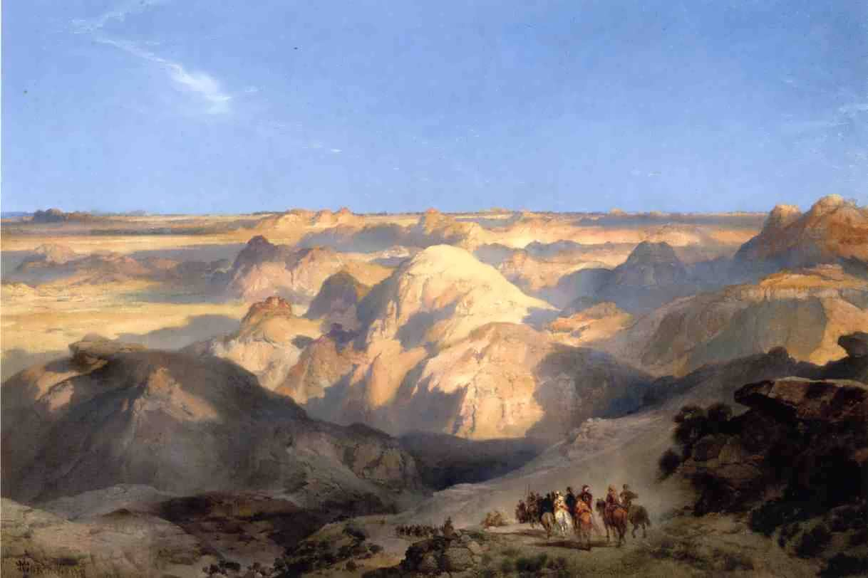 ThomasMoran-BadlandsoftheDakota